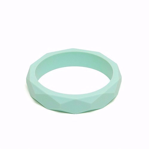 Silikon Mama Armband - Mandel