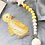 Thumbnail: Dummy Clip / Pacifier Chain LOLLIPOP - Yellow