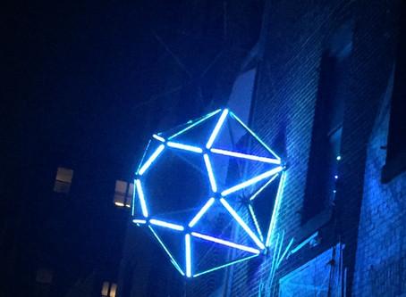 Diamonds Light Up MAP and Saratoga Street