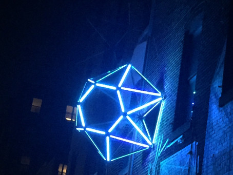 Diamonds Light Up MAP and Saratoga Street