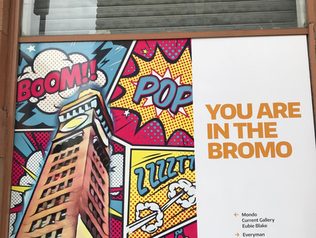 Large Scale Signage Ties Bromo Together