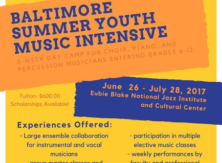 Eubie Blake Youth Music Camp