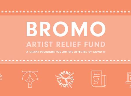 Announcing the Bromo Artist Relief Fund