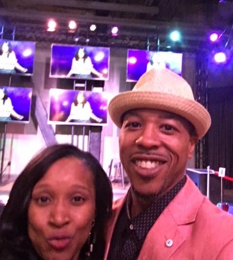 Vic & Latasha at the Mo'Nique Vegas Show