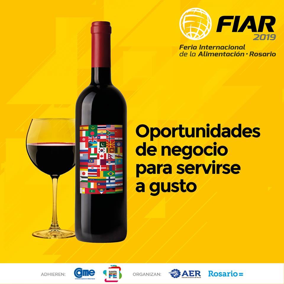 Del 10 al 13 de abril, #FIAR2019  se disfrutará con los cinco sentidos, con experiencias para todos los gustos: cata de vinos, degustaciones de sabores autóctonos y lejanos, concursos y exhibiciones de tecnología. También nos deleitaremos con grandes personalidades de la gastronomía con clases magistrales.