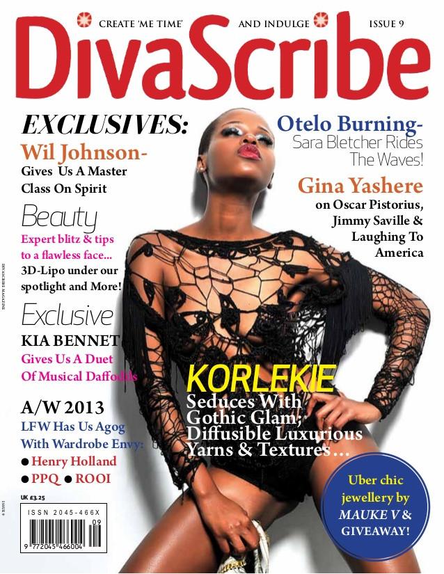 DivaScribe Korlekie Cover Star