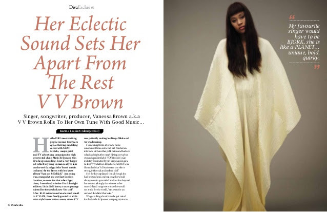 VV Brown Feature