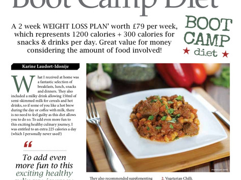 Boot Camp Diet Review - Divascribe