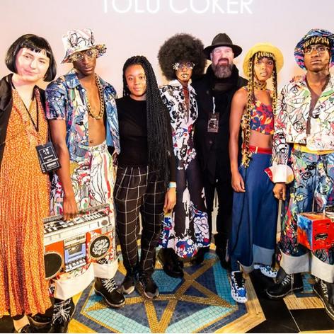 London Fashion Week: Tolu Coker A/W19