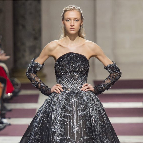 Paris Fashion Week: Ziad Nakad Couture SS19