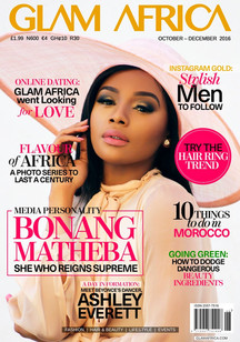 Bonang Matheba Cover Star Glam Africa Magazine