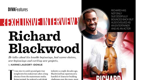 Richard Blackwood Feature - Divascribe