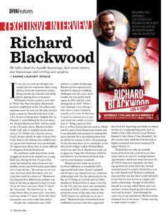 Richard Blackwood Feature
