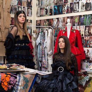 London Fashion Week: 'One to Watch'. AuCarre and the sisters taking the design world by storm.