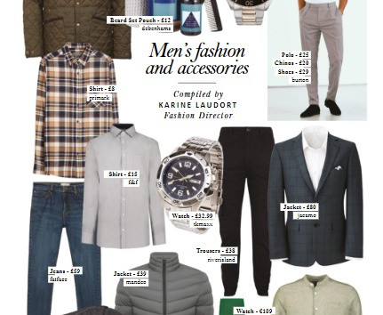 Men's Fashion and Acessories spread for Style of the City Magazine