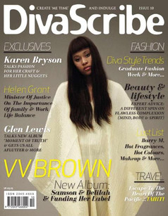 DivaScribe Cover Star VV BROWN