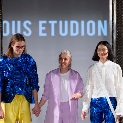 Nous Etudions named 'One to Watch' at LFW