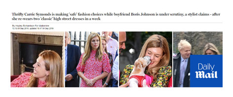 Carrie Symonds' Fashion Choices - Daily Mail Commentary