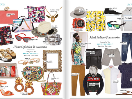 Women's and Men's Fashion & Accessories Spread - Style Of the City Magazine
