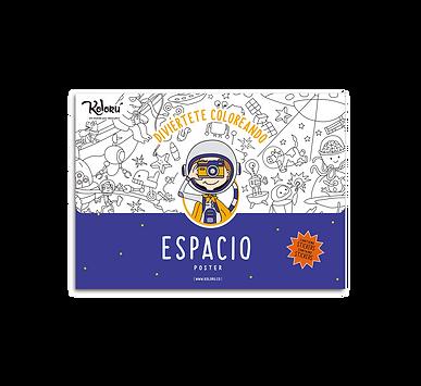 Poster Espacio + Stickers