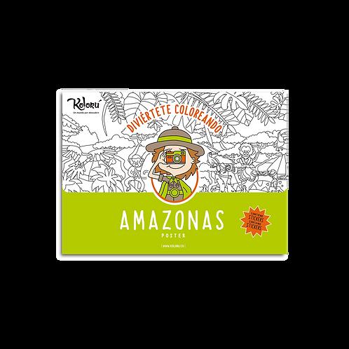 Poster Amazonas + Stickers