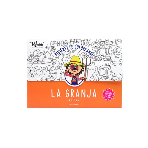 Poster La Granja + Stickers