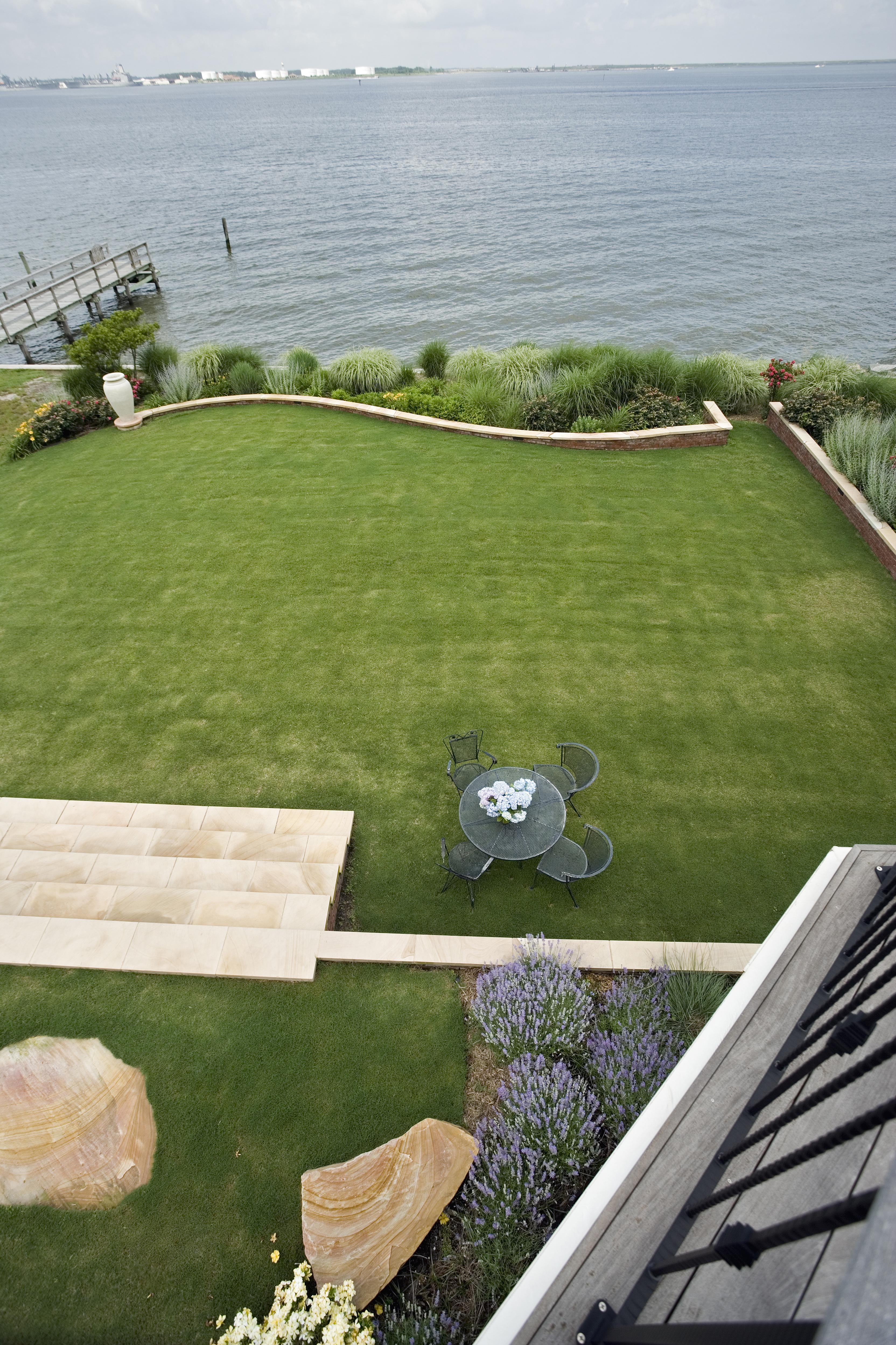 Edgewater - Backyard Ariel View
