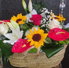 Cestón flor variada