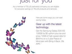 Enjoy 10GB fast data on Canada 5G network