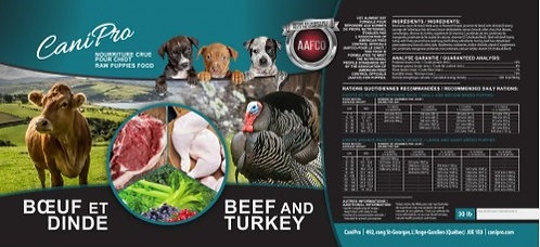 Beef & Turkey for Puppy