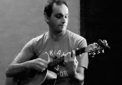 On guitar ... Ed Kairouz