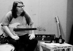 On guitar ... Matt Galvin