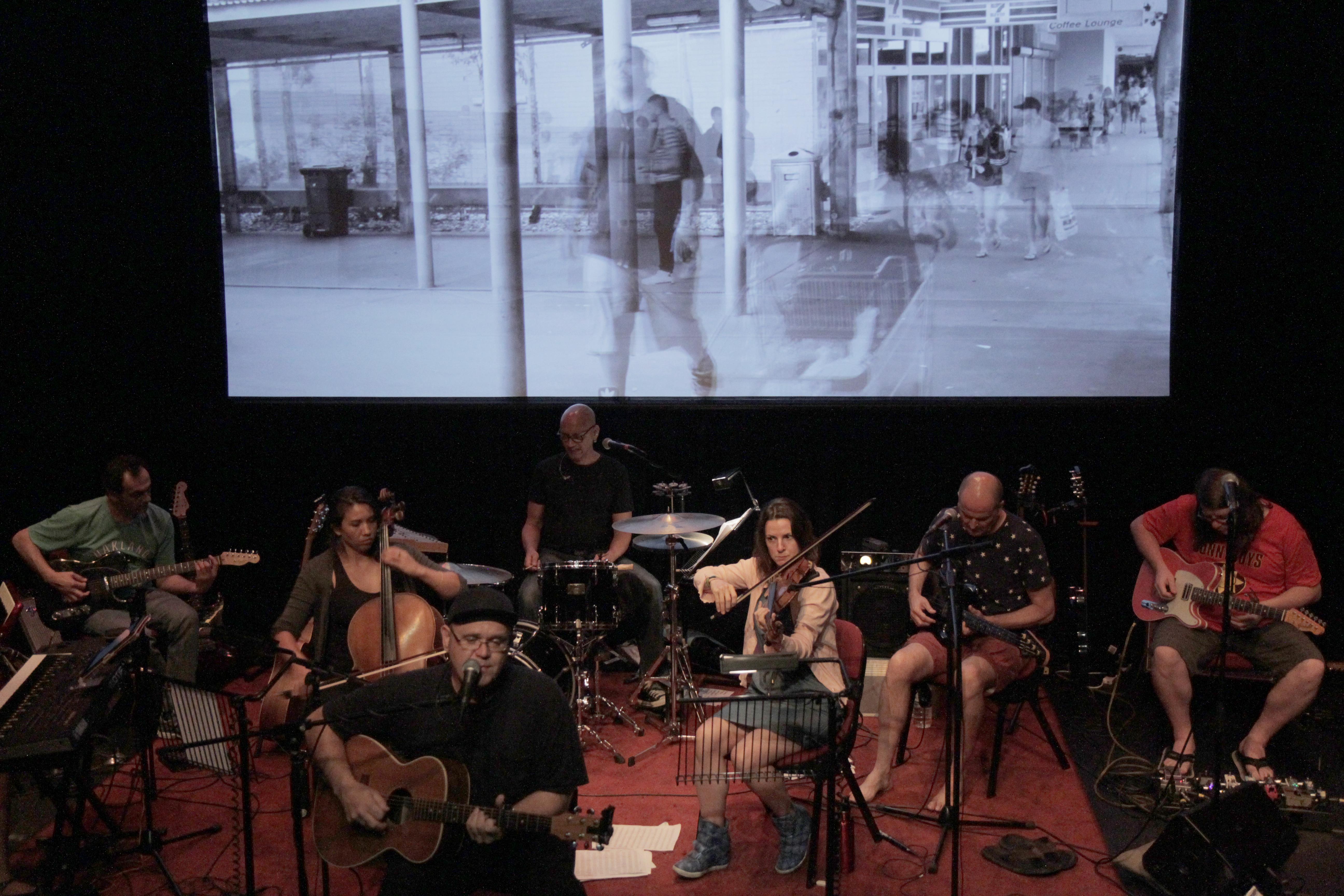 Rehearsing for the Sydney Festival