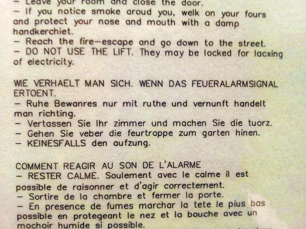 Gefährliche Übersetzung