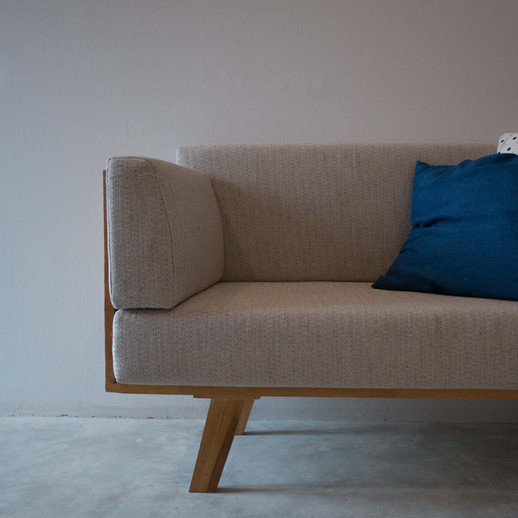 Customize cosy sofa with our selected cushions
