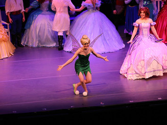 """Tinker Bell in """"A Dream is a Wish: Princess Concert"""""""