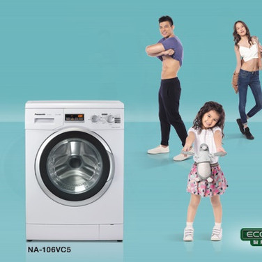 Panasonic 愛衫號 前置式洗衣機