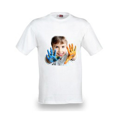 T-shirt bianca unisex