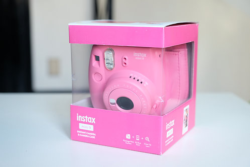 Fujifilm Instax Mini 9 Rosa + Borsa +10 foto