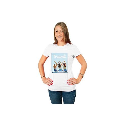 T-shirt bianca donna Slim fit