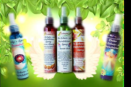 """Bio Schutz- und Desinfektions Spray, """"lemon-herb"""" 100ml"""