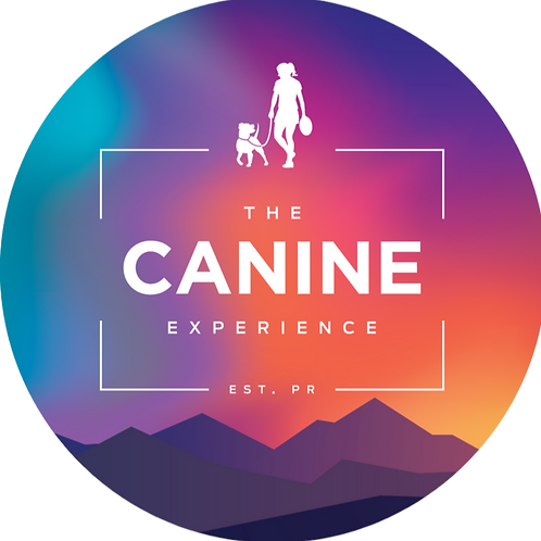 The Canine Experience Girl Sticker