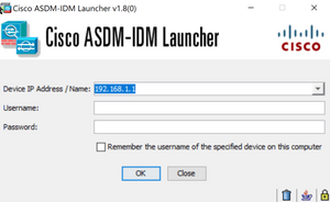 Cisco ASDM Font Size Too Small Or Overlap on 2K or 4K displays