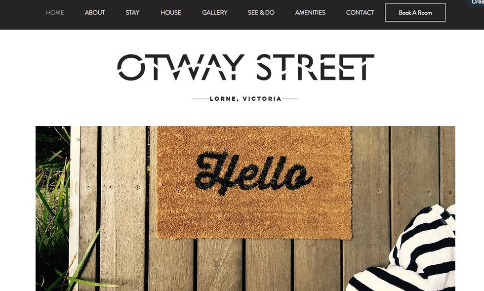 Otway Street Brand Website