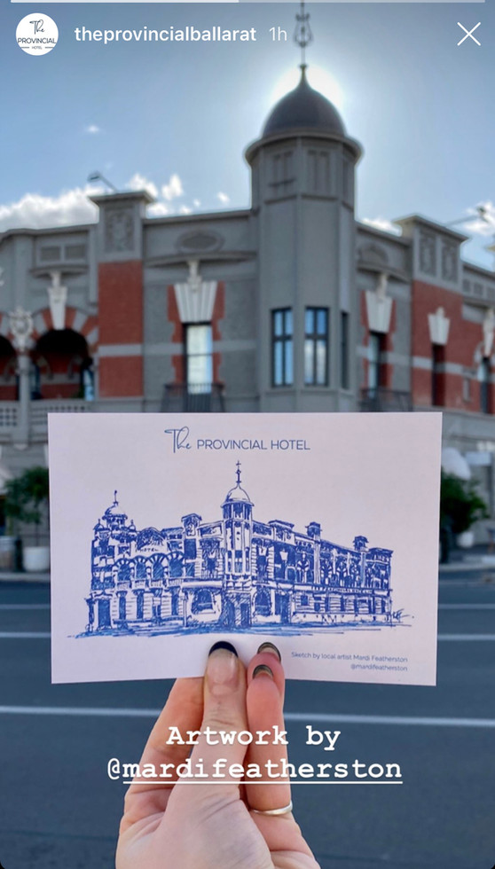 Provincial Hotel Artwork