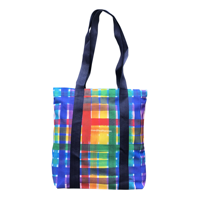 Gingham Tote $55.00