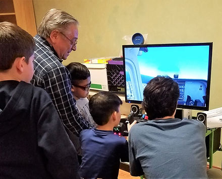 our flight simulator