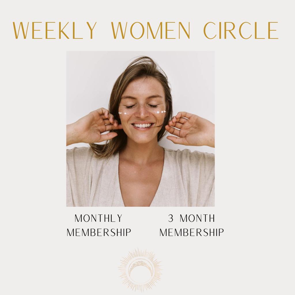 WEEKLY WOMEN'S CIRCLES