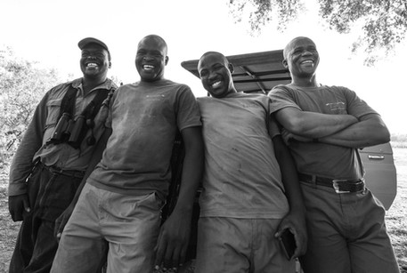 Letaka boys in Botswana