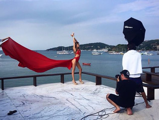 Making of Andressa Griebels Swimwear